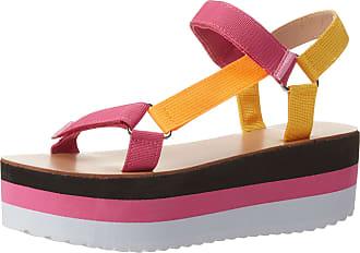 Yoki Womens ZOEY-07 Flat Sandal, Multi Color, 6.5 UK