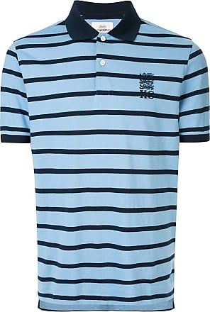 Kent & Curwen striped polo shirt - Blue