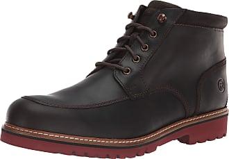 Rockport Mens Marshall Rugged Moc Toe Ankle Boot, Dark Bitter, 11.5 UK