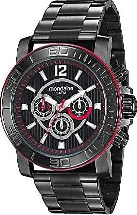 Mondaine Relógio Masculino Robusto All Black