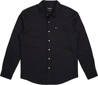 Savile Row Mens Blue White Narrow Stripe Classic Fit Linen-Blend Shirt XXL Standard
