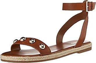 564734792e65 Aldo Womens ALAENIEL Flat Sandal Camel 7 B US