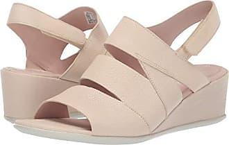 Ecco Womens Womens Shape 35 Wedge Sandal, Vanilla, 38 M EU (7-7.5 US)