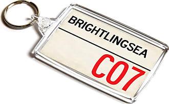 ILoveGifts KEYRING - Brightlingsea CO7 - UK Postcode Place Gift