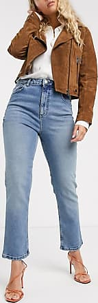 Warehouse slim high rise jeans-Blue