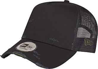 New Era Adjustable Trucker Cap - Distressed Black