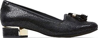 Van Dal Womens Thurlo Suede Tasselled Slip-On Court Shoes 3083130 5.5 UK Black