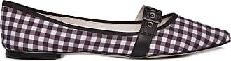 Vinci Shoes Sapatilha Vichy - Preto