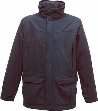 Regatta Mens Vertex III Waterproof Breathable Jacket (3XL) (Navy Blue)
