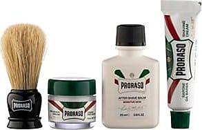 Proraso Shaving care Travel Kit Pre Shave Cream Refresh 15 ml + Shave Cream Refresh 10 ml + After Shave Balm Sensitive 25 ml + Shaving Brush 1 Stk