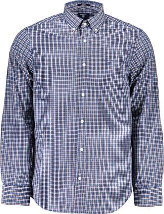 GANT The Regular Indigo Shirt Camicia Uomo