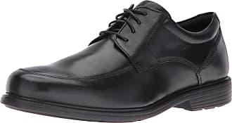 Rockport Mens V82591 Charles Road Apron Toe Black Size: 10.5 Wide