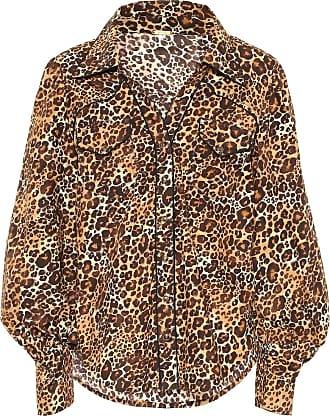 Johanna Ortiz Camicia a stampa leopardo in cotone