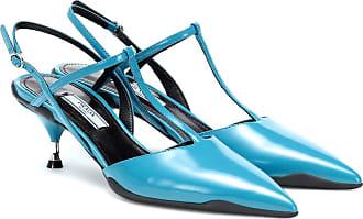 Prada Opanca leather slingback pumps