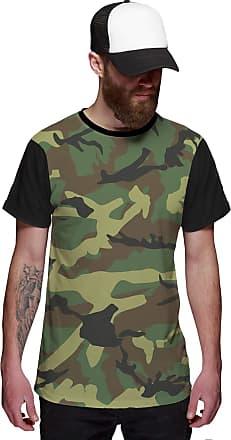 Di Nuevo Camiseta Exército Camuflada Brasileira Verde Exclusiva