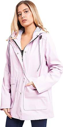 Noroze Women Waterproof Raincoat Jacket (10, Lilac)