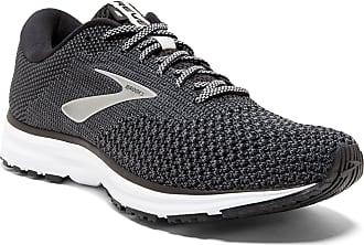 Brooks Womens Revel 2 Running Shoes, Black (Black/Grey 050), 5.5 UK