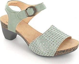 0143d8b60dbe56 Think Damen Sandaletten Traudi 01-Sandalette 6-86570-57 Mint grau 259062