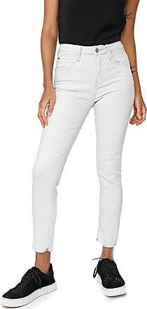 Calvin Klein Jeans Calça Jeans Calvin Klein Jeans Skinny Cropped Pespontos Azul