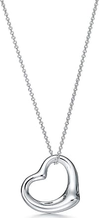 Tiffany & Co. Elsa Peretti Open Heart pendant in sterling silver More sizes available - Size 27 mm