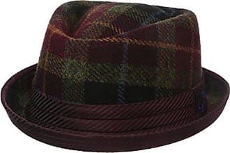 Robert Graham Headwear Mens Casino Royale Fedora, Burgundy, X-Large