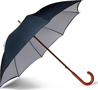 London Undercover Maple Wood-handle Umbrella - Navy