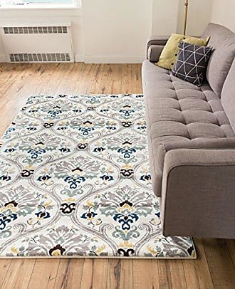 Well Woven Electro Darling Floral Gold Floral Modern Area Rug 23 X 311
