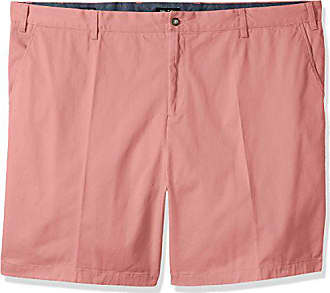 Nautica Mens Big and Tall Classic Fit Flat Front Stretch Chino Deck Short