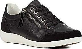 Geox D Myria C, Baskets Hautes Femme, Noir (Black), 40 EU
