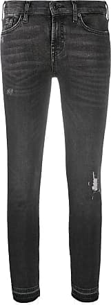 7 For All Mankind skinny fit jeans - Cinza