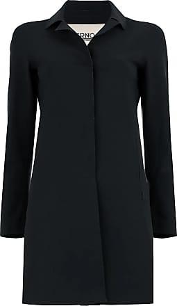 Herno Black single breasted coat