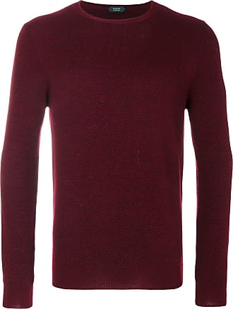 Zanone long length jumper - Red