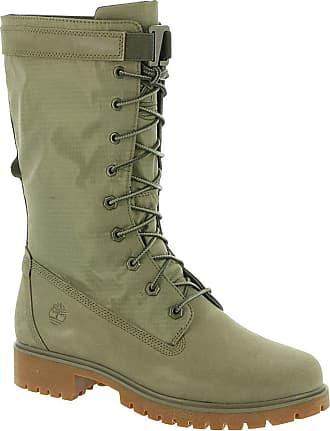 f5a3b4929d Timberland Womens Jayne Waterproof Gaiter Boot Light Green Nubuck/Light  Green 7 B US B