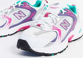 New Balance 530 - Sneaker in Weiß und Violett-Rosa