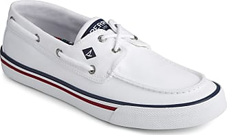 Sperry Top-Sider Sperry Mens Bahama II Nautical Boat Shoe, White, 8.5 M US