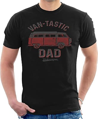 Volkswagen Vantastic Dad Mens T-Shirt Black