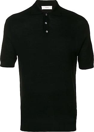 Pringle Of Scotland Camisa polo slim - Preto