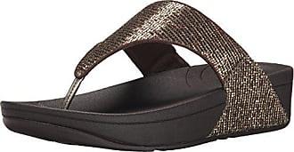 8d4e69c3f FitFlop Fitflop Womens Lulu Superglitz Textile Sandal