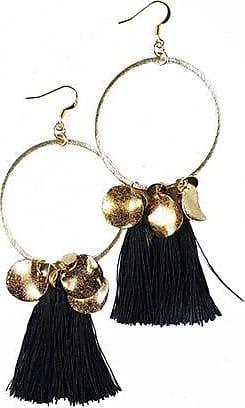 Fabulina Designs Ciara Earrings - Black