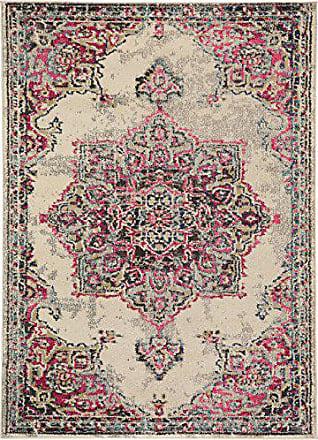 Benuta Teppich Casa Beige/Pink 140x200 Cm | Moderner Teppich Für Wohn  Und  Schlafzimmer