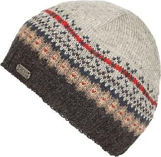 KuSan 100% Wool Fine Gauge Beanie Hat (Charcoal/Grey) (PK1604)