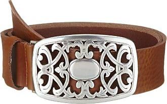 1701ac9431 Biotin MGM - Cinturón para mujer, talla 100 cm, color cognac