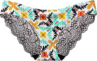 Abetteric Calcinha feminina Abetteric de renda macia, sem aro, de algodão, cintura baixa, pacote com 3, 11, US X-S=China S
