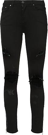 Amiri Thrasher distressed skinny jeans - Black