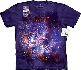 The Mountain Star Forming Usa Adult T-Shirt, Purple, Large