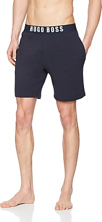 BOSS Mens Identity Shorts, Blue (Dark Blue 403), Large