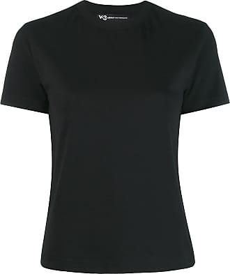Yohji Yamamoto Camiseta com estampa de logo - Preto