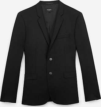 The Kooples Buttoned formal black wool jacket - MEN