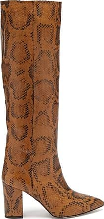 PARIS TEXAS Python-effect Leather Boots - Womens - Python