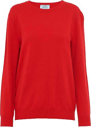 Prada Suéter de cashmere - Vermelho